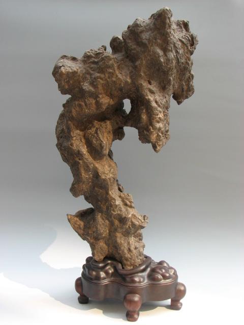 奇石的架座艺术  - 汝州奇石网 - 汝州奇石网